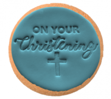 Cake Mad - Cookie Embosser - On Your Christening