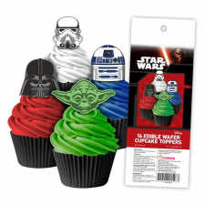 Wafer Paper Cupcake Topper - Star Wars