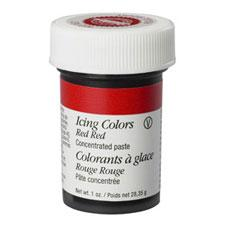 Paste - Wilton - 1Oz - Red Red