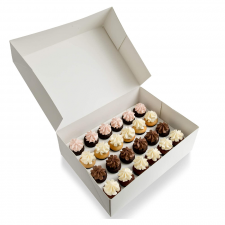 Cup Cake Box - 24 Mini Cupcakes - With Insert