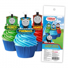 Wafer Paper Cupcake Topper - Thomas & Friends