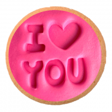 Cake Mad - Cookie Embosser - I Love You