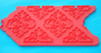 Mould - Red - Damask
