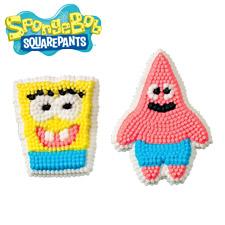 Sugar - Wilton Sugar Decorations Spongebob