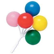 Plastic - Balloons Pick - Large