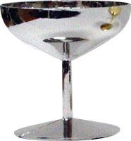 Plastic - Champagne Glass - Silver