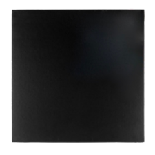 Cakeboard - Square - Black - 8""
