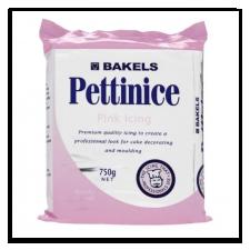 Fondant - Bakels - 750g Pink