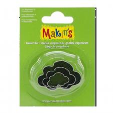 Cutter - Makins - Clouds - Set Of 3