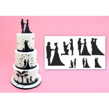 Cutter - Patchwork - Wedding Silhouette Set