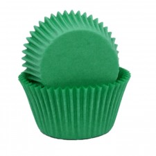 Muffin Cup - 408 - Green (100 Pk)