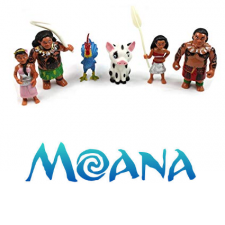 Figurines - Moana Set of 6
