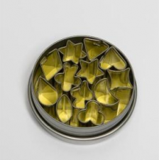 Cutter - Shapes 12 Pc 5cm - Tin