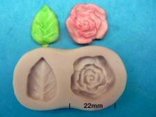 Mould - Rose & Leaf