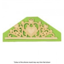 Silicone Mould - Large Tiara