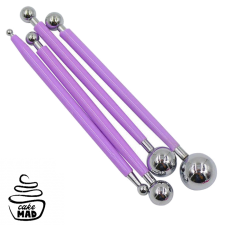Cake Mad - Stainless Steel Ball Tool Set