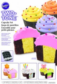 Wilton - 2 Tone Cupcake Insert - Cake Decorating Solutions