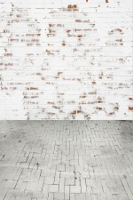 Photo Backdrop - Whitewash Brick