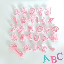 Cutter - Alphabet - Upper Case Pink
