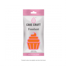 Fondant - Cakecraft - 250g Sunset Orange