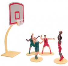Cake Kit - Basketball 5 Pc Set