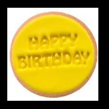 Cake Mad - Cookie Embosser - Happy Birthday #17