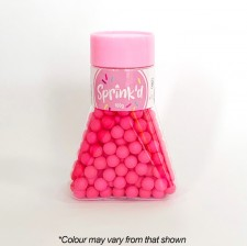 Sprink'd - Sugar Balls - Bright Pink - 8mm - 100G