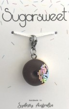 Jewellery - Chocolate Donut Charm