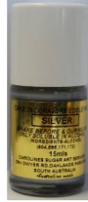 Paint - Edible - Silver - 15Ml
