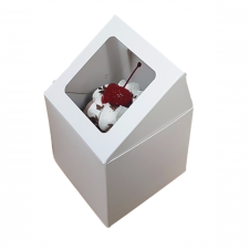 Cup Cake Box - Single - With Insert