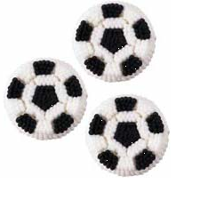 Sugar - Soccer Ball Decals (9 Pack)
