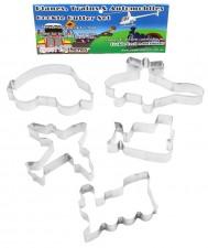 Cookie Cutter - ST - Planes, trains & Automobiles Set