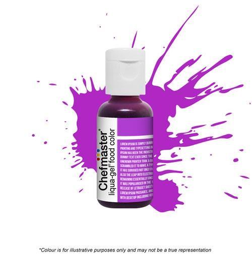 Paste - Chefmaster - Neon Purple .70oz - Cake Decorating ...