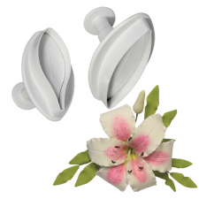 Cutter - Ejector - Veined Lily - Large Set 2