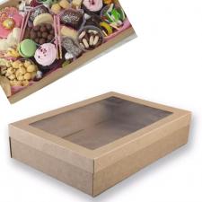 Cake Box - Grazing - 360X250x80 - Kraft