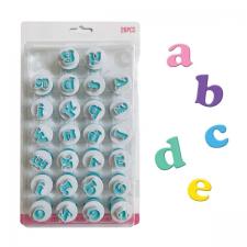 Cutter - Ejector - Mini Alphabet - Lower Case