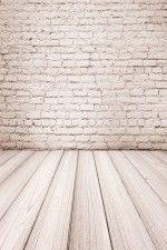 Photo Backdrop - Brick & Wood