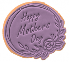 Cake Mad - Cookie Cutter & Embosser - Happy Mothers Day #15