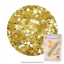 Edible Golden Yellow Stars