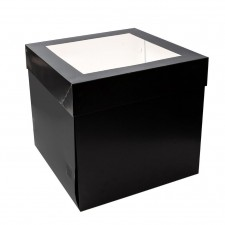 Cake Box - Tall - 10x10x10 - Black