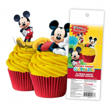 Wafer Paper Cupcake Topper - Mickey Mouse