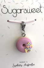 Jewellery - Strawberry Donut Charm