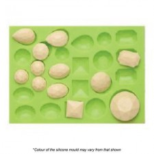 Silicone Mould - Assorted Gems