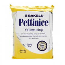 Fondant - Bakels - 750g Yellow