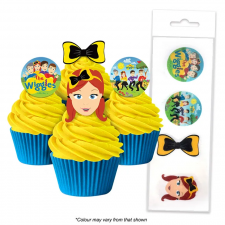 Wafer Paper Cupcake Topper - The Wiggles