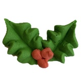 Sugar Decoration - Holly - Medium