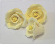 Flower - Rose - Yellow- Tiny (No Leaf)