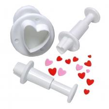 Cutter - Ejector - Heart - Set 3