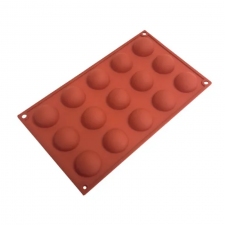 Silicone Mould - Hemisphere 15 Cavity