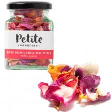 Dried Organic Edible Rose Petals - Pink